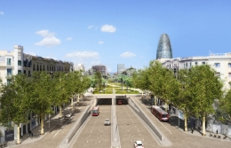The municipality of Barcelona announces the bid for construction of the Glòries tunnels